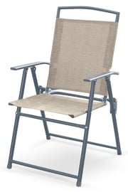 Halmar Rocky Garden Chair Grey/Dark Grey