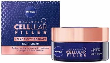 Sejas krēms Nivea Hyaluron Cellular Filler Night Cream, 50 ml