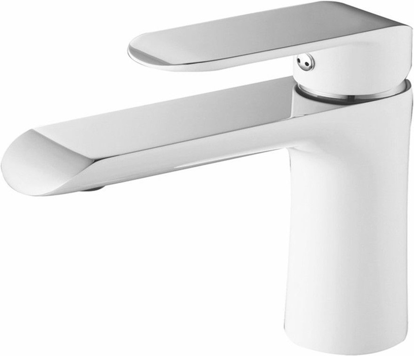 Vento Ravena Ceramic Sink Faucet White/Chrome