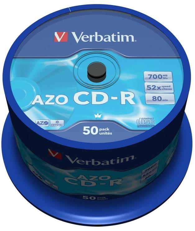 Verbatim CD-R 52X 700MB 50P Cake Box