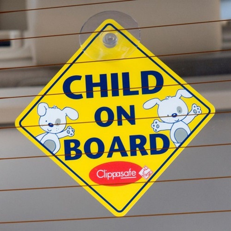 Clippasafe Baby On Board Sign CLI 53