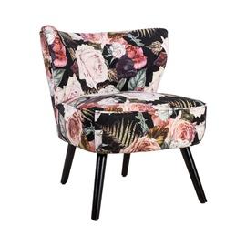 Кресло Home4you La Perla Flowers, 63x73x76 см