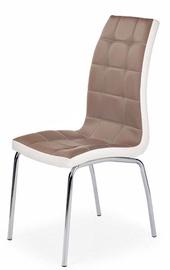 Ēdamistabas krēsls Halmar K186 Cappuccino/White