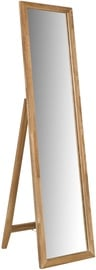 Spogulis Home4you Mondeo Oak, 50.5x160 cm
