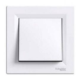 Slēdzis Schneider Electric Asfora EPH0100321 White