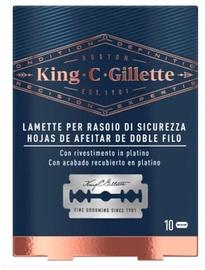 Gillette King C Double Edge Replacement Blades 10pcs