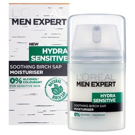 Крем для лица L´Oreal Paris Men Expert Hydra Sensitive Protecting Moisturiser, 50 мл