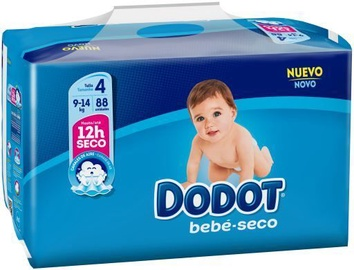 Dodot Baby Dry Diapers T4 88pcs