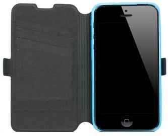 Telone Super Slim Shine Book Case LG Optimus F70 Blue