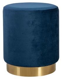 Pufs Home4you La Perla Blue, 35x35x42 cm