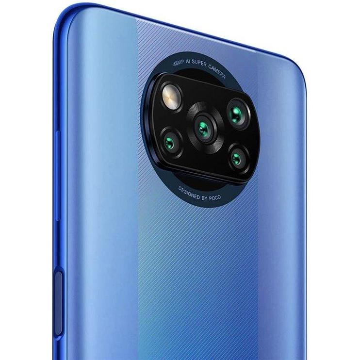 Mobilais telefons Xiaomi Poco X3 Pro, zila, 6GB/128GB