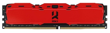 Operatīvā atmiņa (RAM) Goodram IRDM X Red IR-XR3000D464L16S/8G DDR4 8 GB CL16 3000 MHz