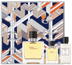 Hermes Terre D Hermes Parfum 75ml EDP + 40ml Aftershave Balm + 12.5ml EDP