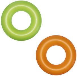 Надувное колесо Bestway Neon, зеленый/oранжевый, 910 мм
