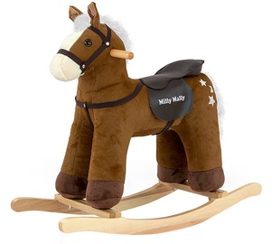 Milly Mally Rocking Horse PePe Dark Brown