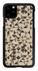 Man&Wood Mono Triangle Back Case For Apple iPhone 11 Pro Max Black