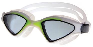 Очки для плавания Spokey Abramis, белый/зеленый