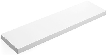Plaukts Songmics White 80x20x3.8cm