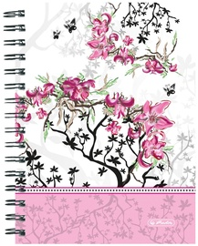 Herlitz Spiral Hardback Notebook A5 Ladylike Bloom 11366812