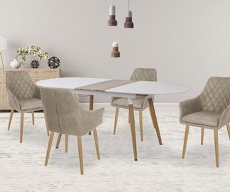 Обеденный стол Halmar Caliber San Remo Oak, 1600x900x760 мм