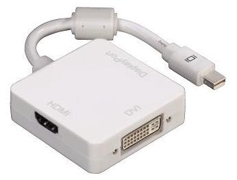 Hama Mini DisplayPort - DVI/DisplayPort/HDMI Adapter