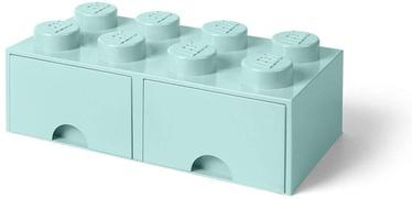 Room Copenhagen LEGO Brick Drawer 8 Aquablue