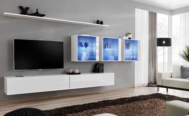 Dzīvojamās istabas mēbeļu komplekts ASM Switch XVII White