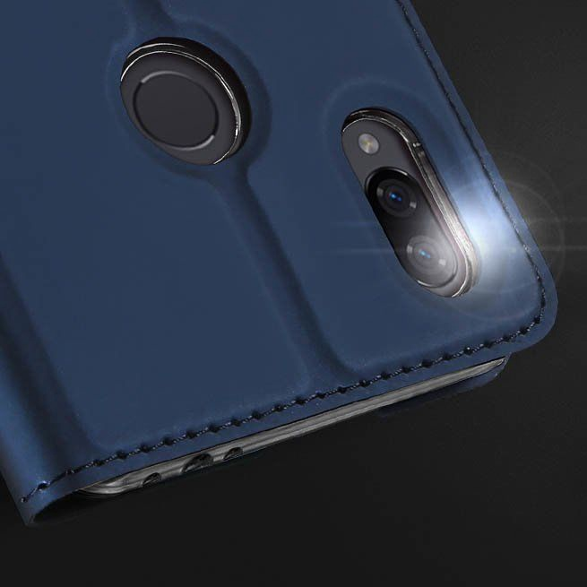 Dux Ducis Skin Pro Bookcase For Xiaomi Redmi Note 7 Blue