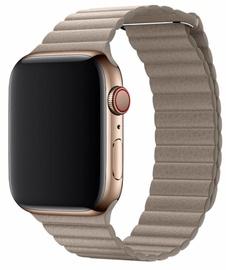 Ремешки Devia Elegant Leather Loop For Apple Watch 44mm Grey