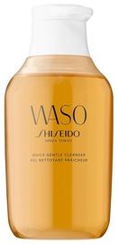 Kosmētikas noņemšanas līdzeklis Shiseido Waso Quick Gentle Cleanser, 150 ml