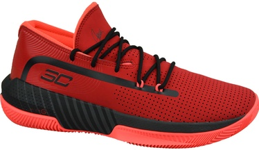 Under Armour Mens SC 3ZER0 III Basketball Shoes 3022048-601 Red 42