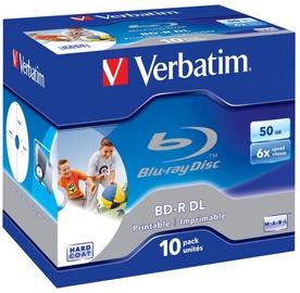 Verbatim BD-R DL Printable JC 50GB 6x 10pcs