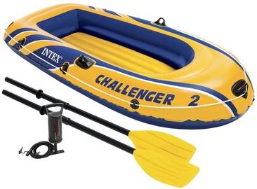 Надувная лодка Intex Challenger 2, 2360 мм x 1140 мм x 406 мм