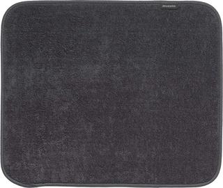 Коврик для сушки посуды из микрофибры Brabantia, 47х40 см, Dark grey