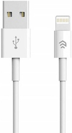 Devia USB To Apple Lightning Cable 2A 1m White