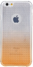 Remax Bright Diamond Back Case For Apple iPhone 6/6s Transparent/Orange