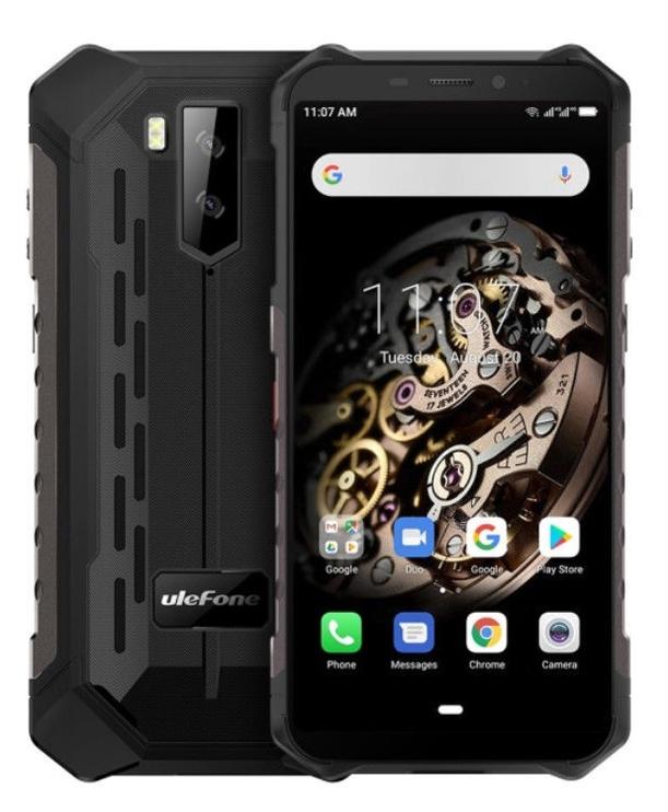 Mobilais telefons Ulefone Armor X5 Black, 32 GB