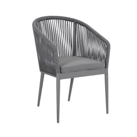 Home4you Ecco Garden Chair Grey