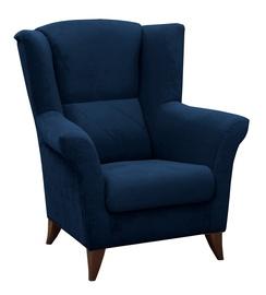 Atzveltnes krēsls Idzczak Meble Kent Blue, 94x75x105 cm