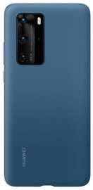 Huawei Silicone Back Case For Huawei P40 Pro Blue