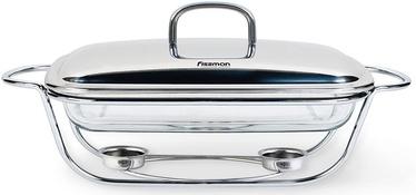 Marmīts (ēdiena sildītājs) Fissman Rectangular Chafing Dish 3l