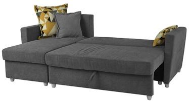 Stūra dīvāns Home4you Asty Grey, 219 x 92 x 78 cm