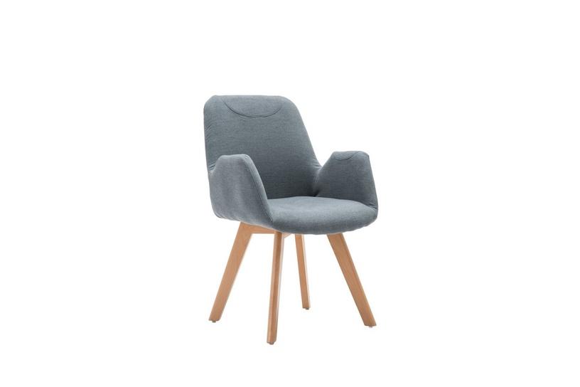 Atzveltnes krēsls Halmar Safari, pelēka, 85x55x85 cm