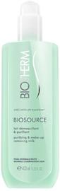 Kosmētikas noņemšanas līdzeklis Biotherm Biosource Purifying & Make-Up Removing Milk, 400 ml