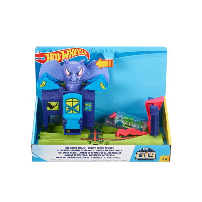 Добавки Mattel Hot Wheels City Themed Asst Gator Garage Attack FNB05