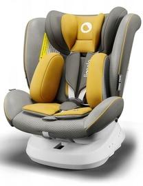 Mašīnas sēdeklis Lionelo Bastiaan One, dzeltena/pelēka, 0 - 36 kg