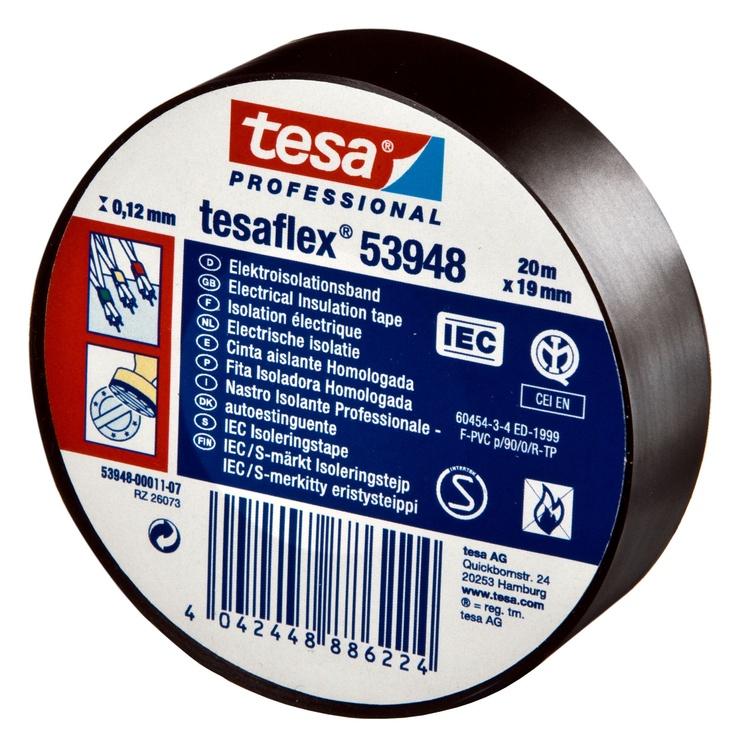 Tesa Tesaflex 53948 20m Black