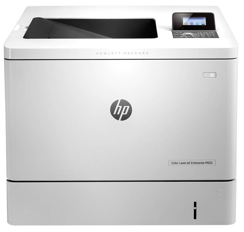 Lāzerprinteris HP Enterprise M553dn, krāsains