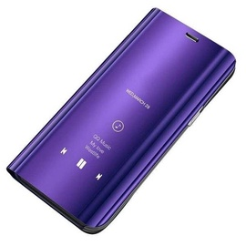 Hurtel Clear View Case For Samsung Galaxy S9 Plus Purple