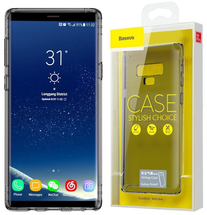 Baseus Airbag Case For Samsung Galaxy Note 9 Transparent/Black